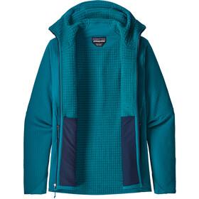 Patagonia R2 TechFace Veste à capuche Homme, balkan blue